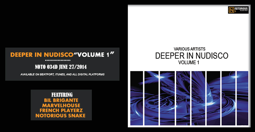 NOTO034D Deeper in Nudisco - Various artists